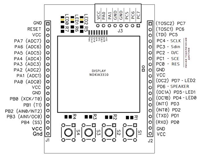 3310 схемы с дисплеем от nokia