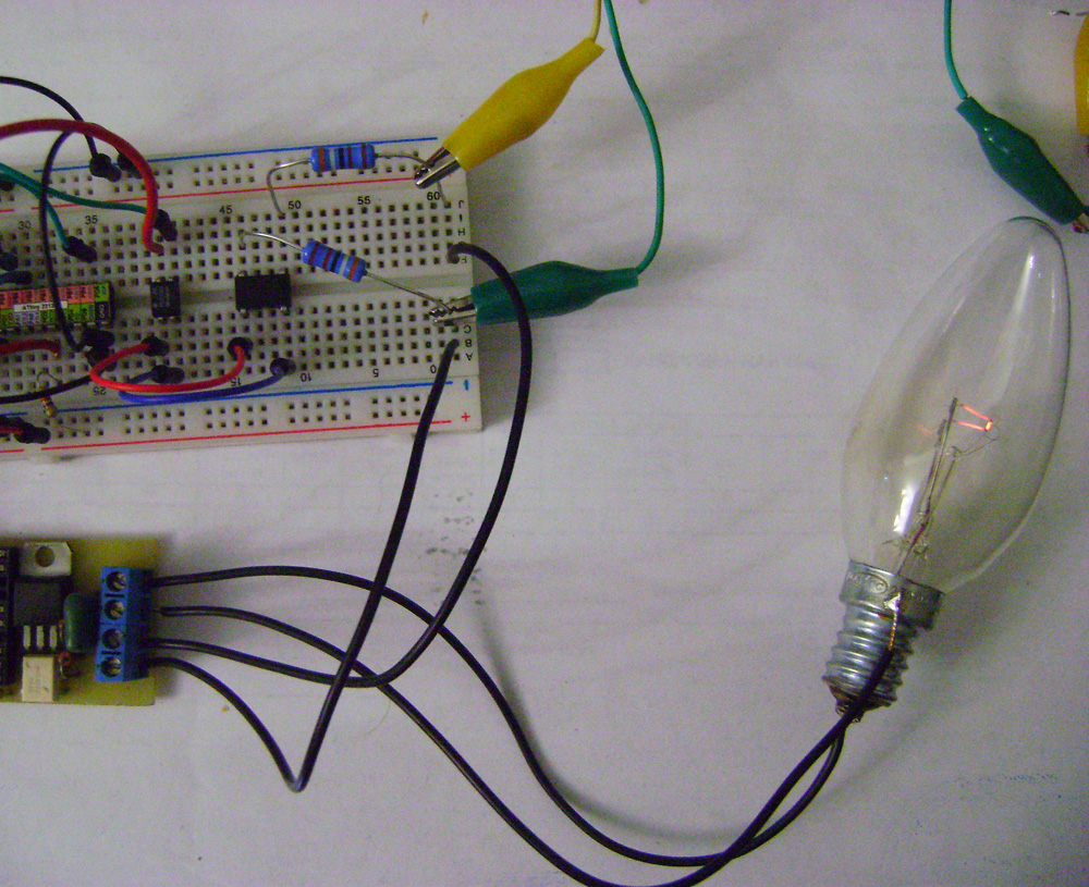 Voltage Controlled AC Light Dimmer - PCB Heaven