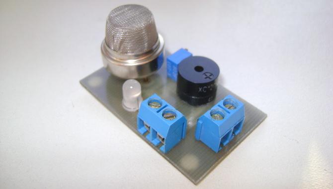 سنسور آشکارساز نشت گاز MQ-4