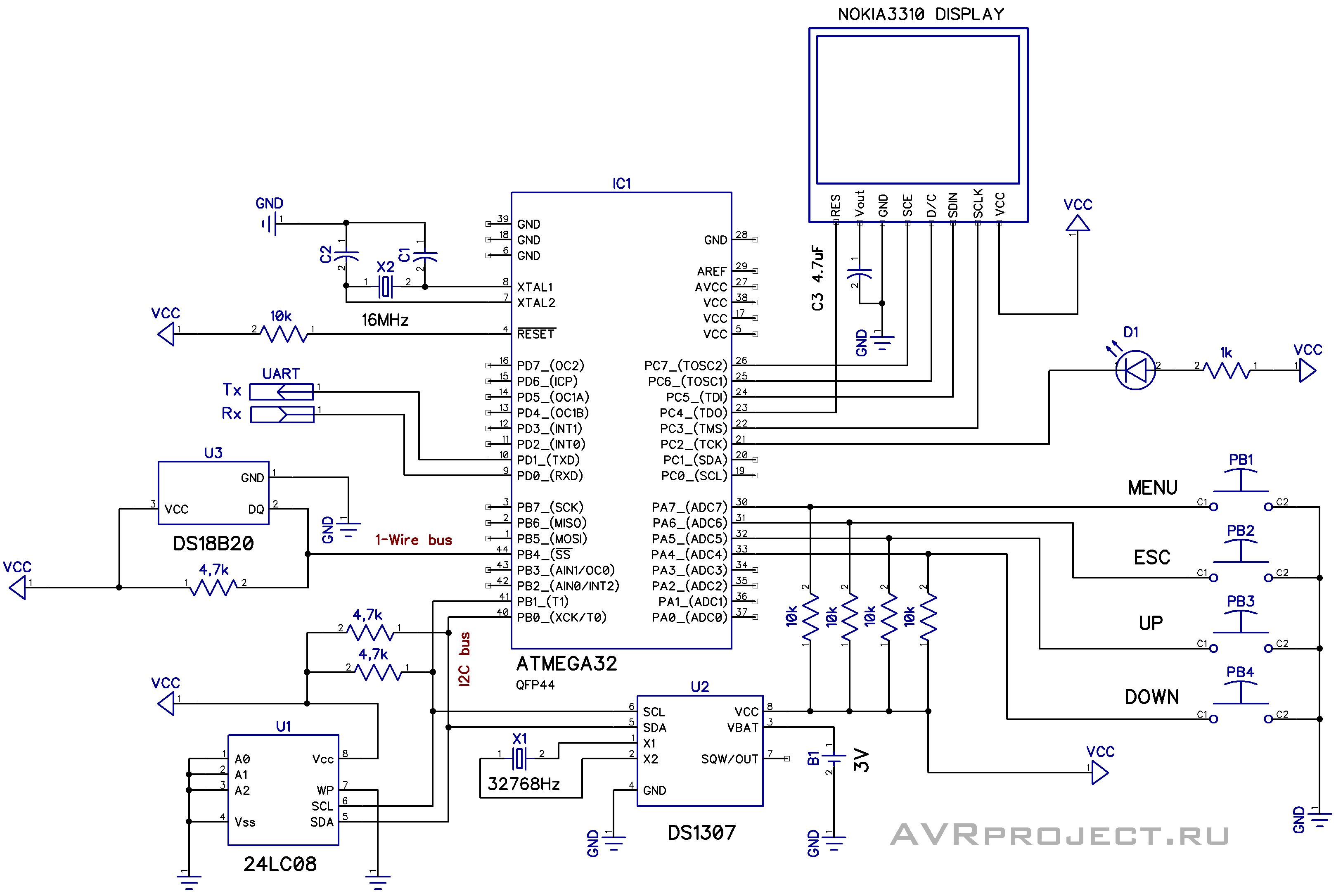 Схемы микроконтроллеры и дисплеи от телефонов6