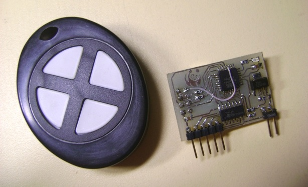 модуль радиоуправления на