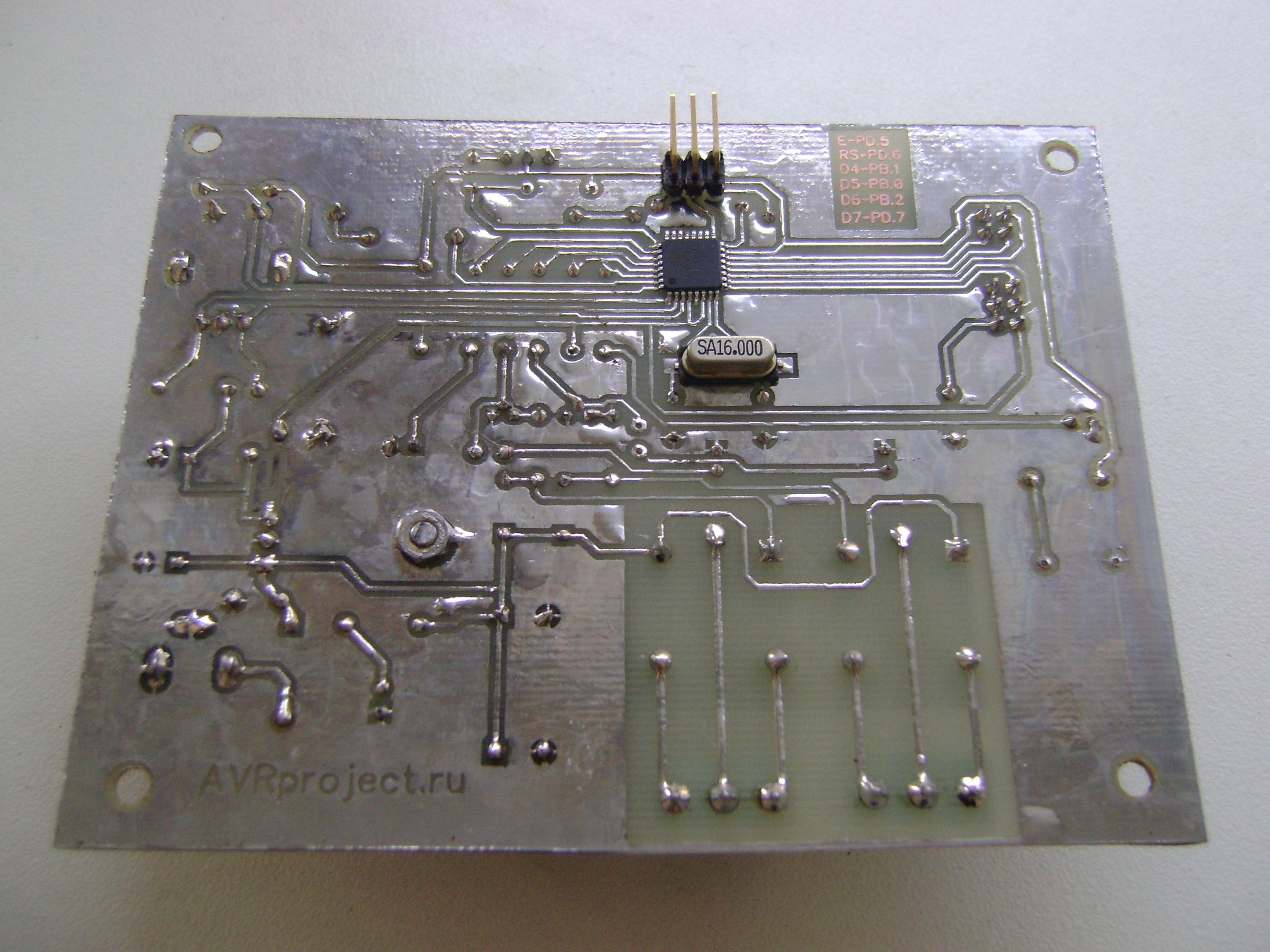 И кварцевого резонатора использованы