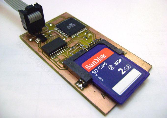 дисками в Bascom-AVR