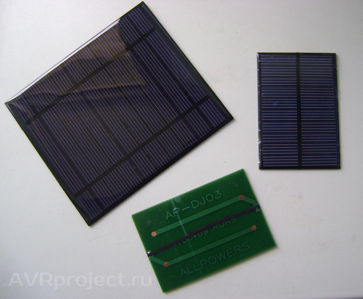 схема китайского фонаря на солнечной панели